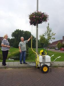 hangingbasket buurtproject florabasket